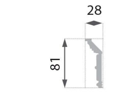 B-31 Profillist mønster 28x81mm