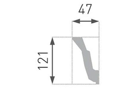 B-41 Profillist mønster 67x121mm