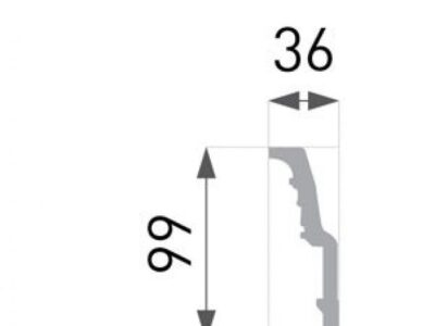 B-50 Profillist mønster 36x99mm