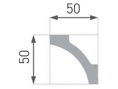 E-12 Taklist 50x50mm.