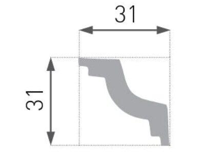 E-28 Taklist 31x31mm
