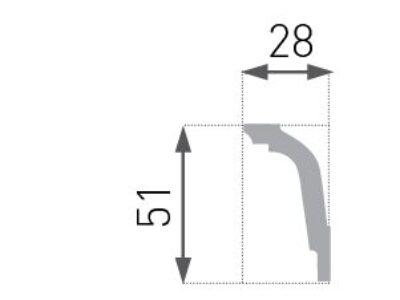E-32 Taklist 28x51mm.