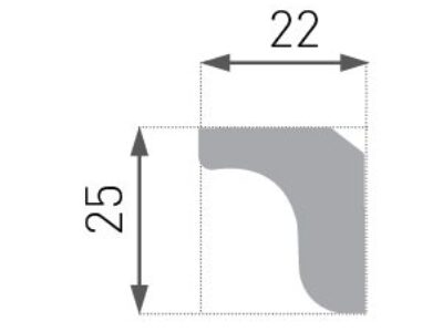 E-03 Taklist 22x25mm