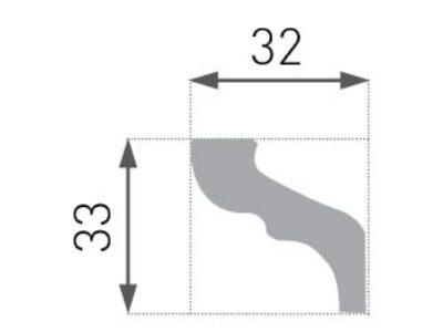 E-06 Taklist 33x32mm.