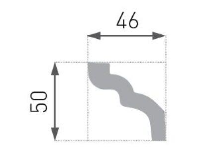 E-07 Taklist 50x46mm.