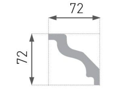 E-08 Taklist 72x72mm