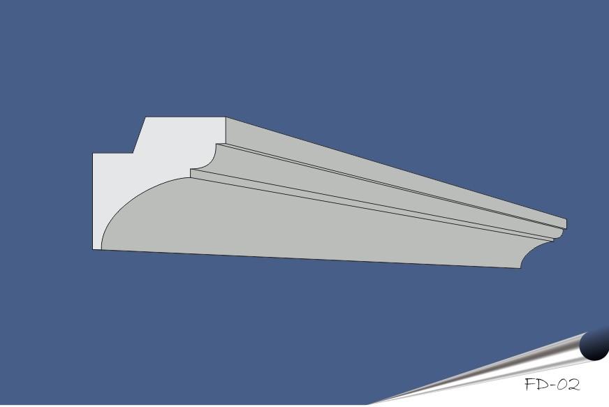 FD-02 grå-blå