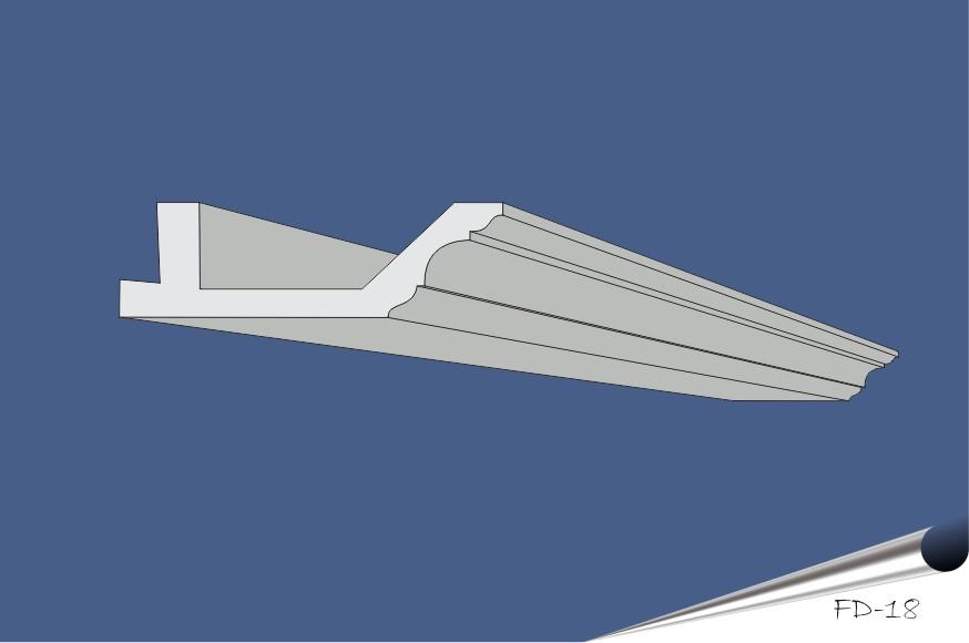 FD-18 grå-blå II