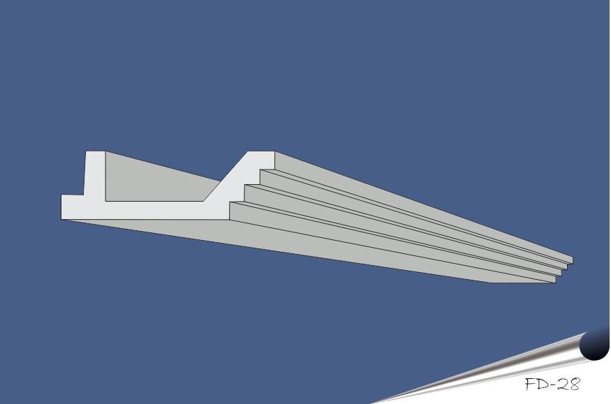 FD-28 grå-blå