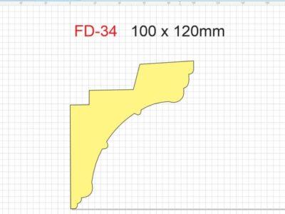 Lyslist, FD-34 /100x120mm/.