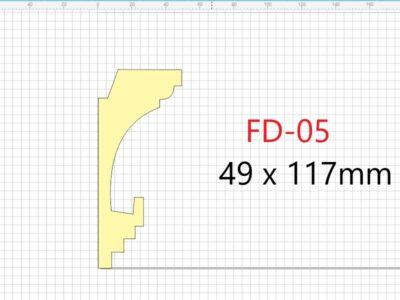 Lyslist, FD-05 /117x49mm/.